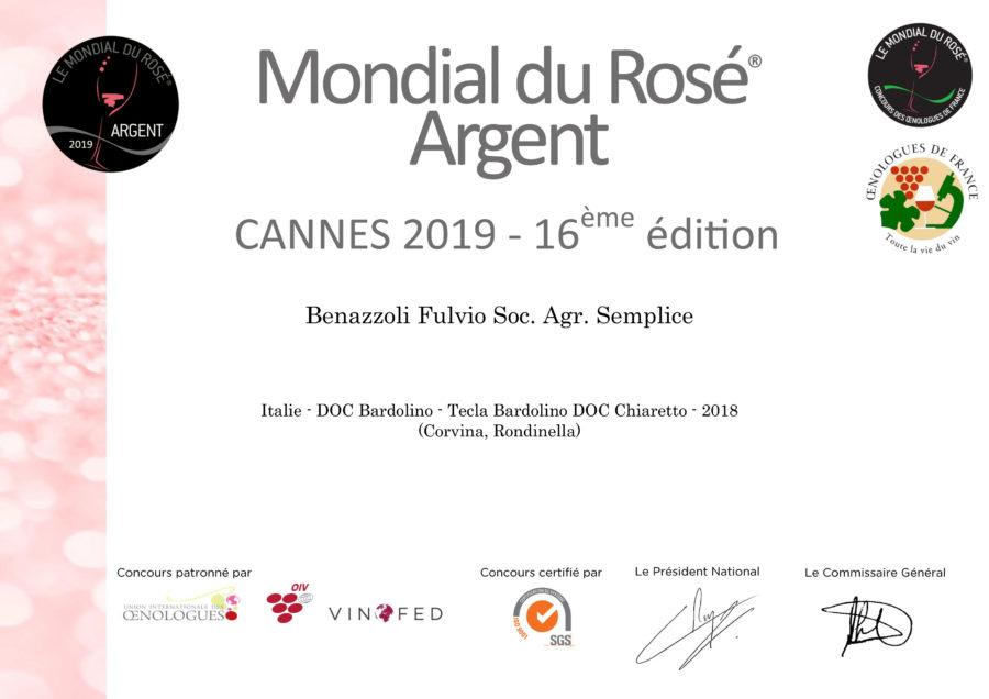 Mondial du Rosé 2019